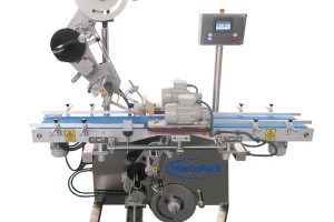 Top and base labeler