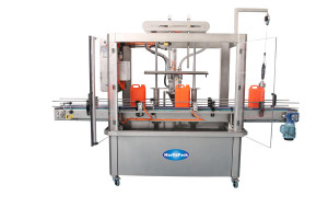 Filling and capping machinery